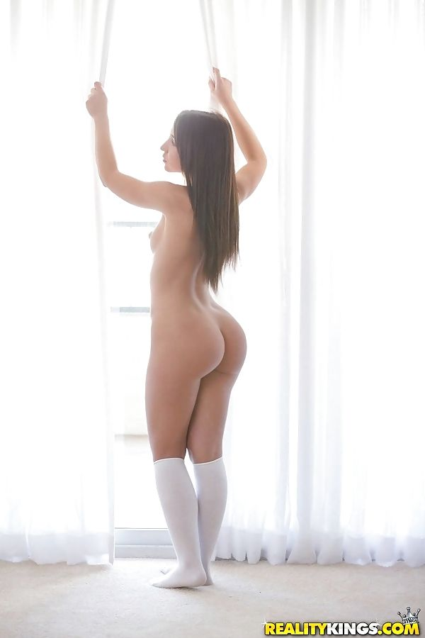 Amateur youthful seduces her stepfather in her schoolgirl uniform