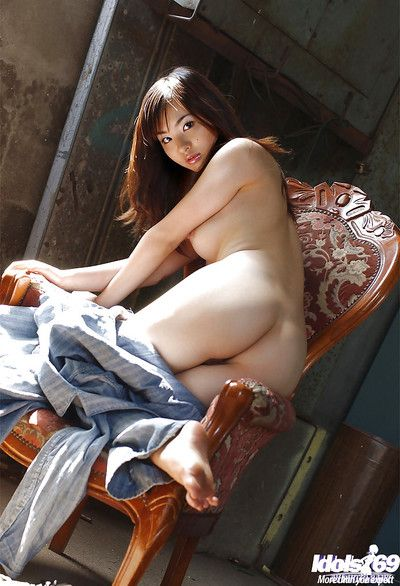 Cute asian babe Hikaru Koto invention her tempting curves