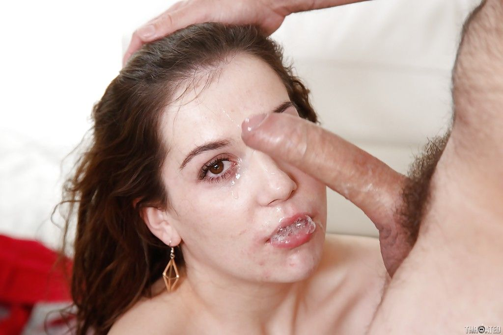 Kasey warner blowjob cute brunette