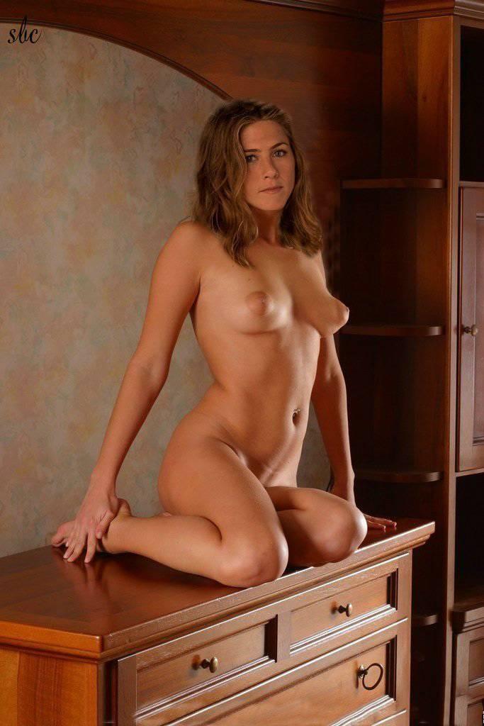 Sarah chalke in her underwear