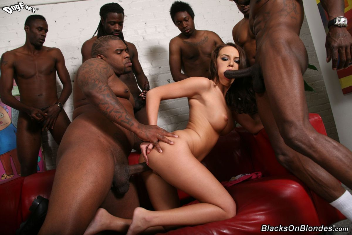 Agree, interracial gangbang orgy opinion