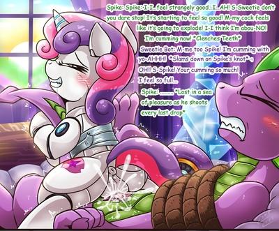 Spike X Sweetie Bot