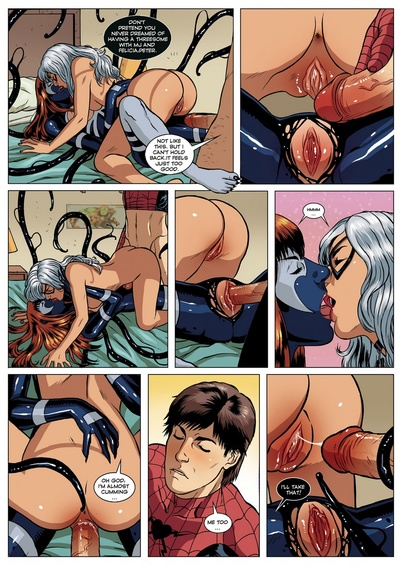 Spider-Man Sexual Symbiosis 1