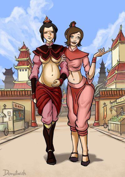 Ty Lee and Azula