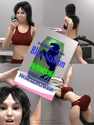Futacola- Blue Stallion