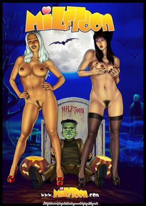 Milftoon- Fright Night