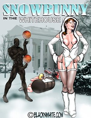 BlacknWhite- Snowbunny-White House