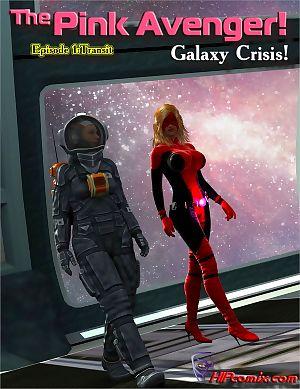 HIPcomix- The Pink Avenger! Galaxy Crisis!