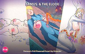 Orionart- Samus & The Elode