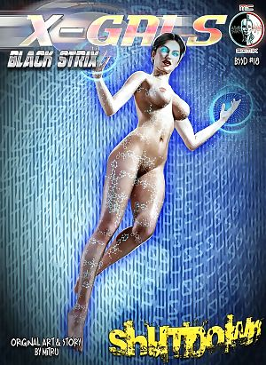 MC Comix- X-Gals- Black Strix – Shutdown 18