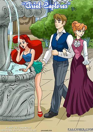 Palcomix- Ariel Explores