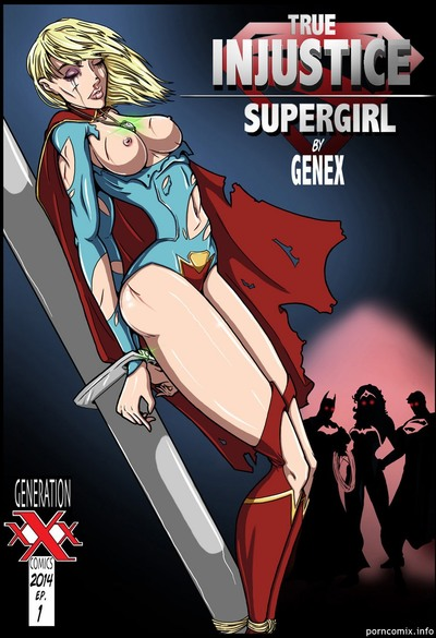 Genex - True Injustice Supergirl