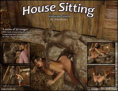 Blackadder- House Sitting