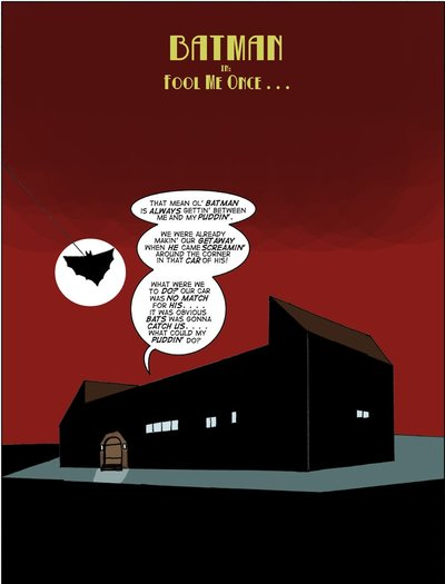 Great Scott Saga 2- Batman Fool Me Once