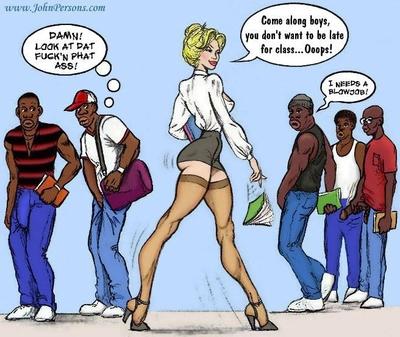 White Slut Teacher- John Persons