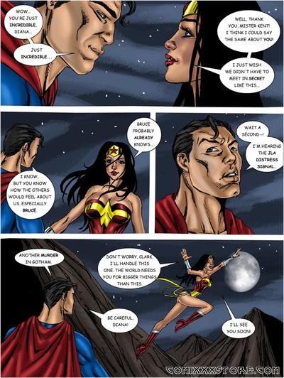 Wonder Woman vs Predator (JLA)