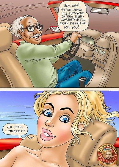Grandpa and His New Ride