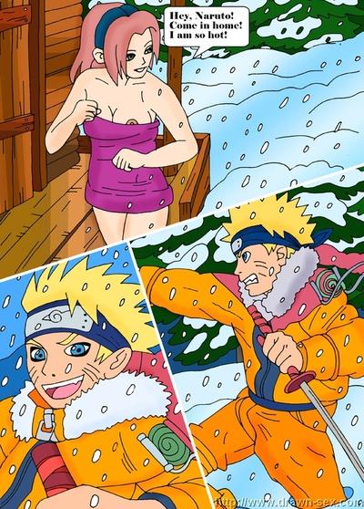 Naruto- Hot Winter Night