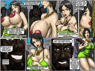 Donna- illustrated interracial - part 2