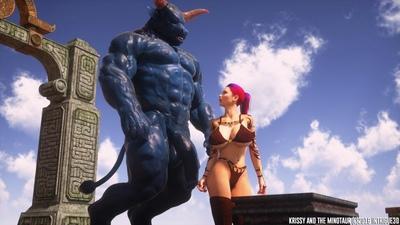 Krissy And The Minotaur