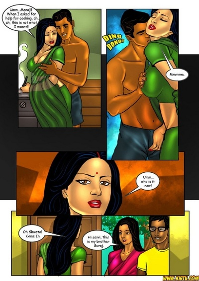 Savita Bhabhi 18 - Tuition Teacher Savitch