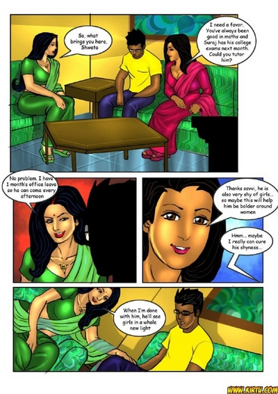 Savita Bhabhi 18 - Tuition Teacher Savitch