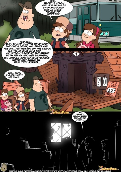 Gravity Falls - Big Mysteries