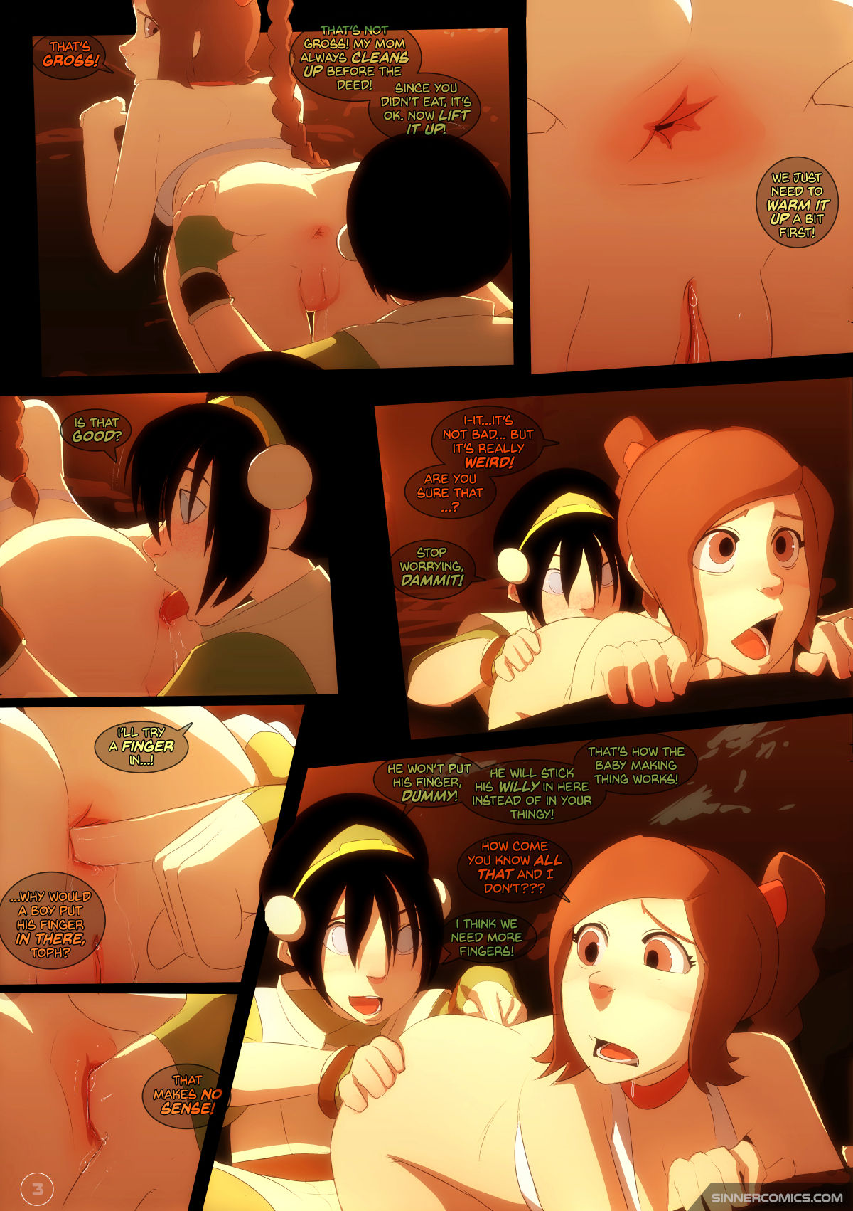 Avatar hentai mamada juego
