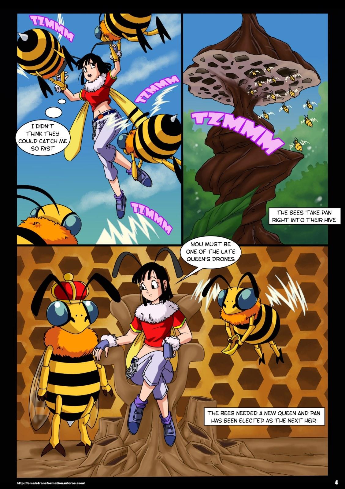 Dragon Ball- Queen Bee at X Sex Comics