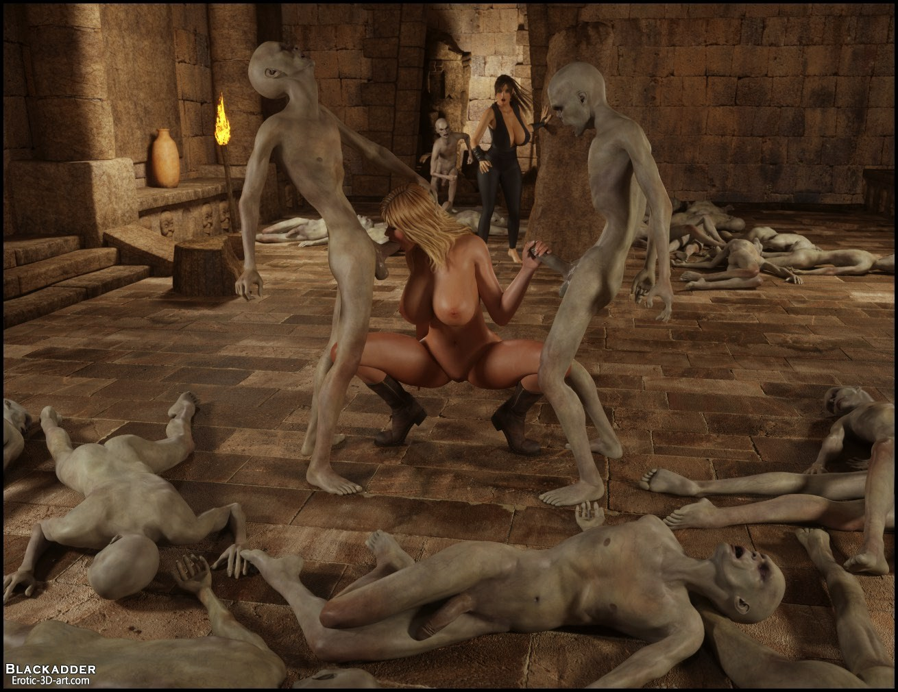 3d lara croft orgy and more tomb raider - 1 part 7