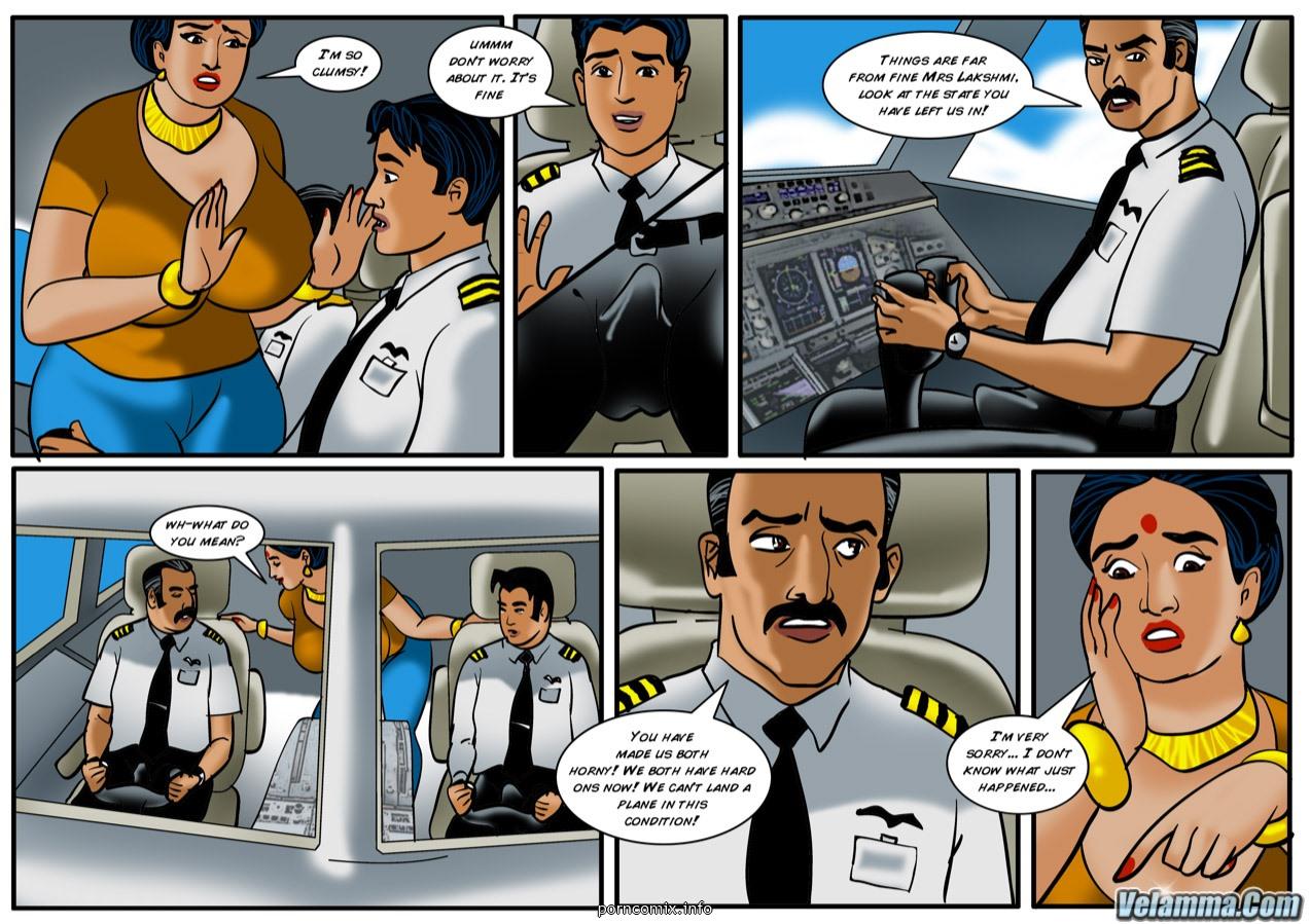 Porno dans le cockpit
