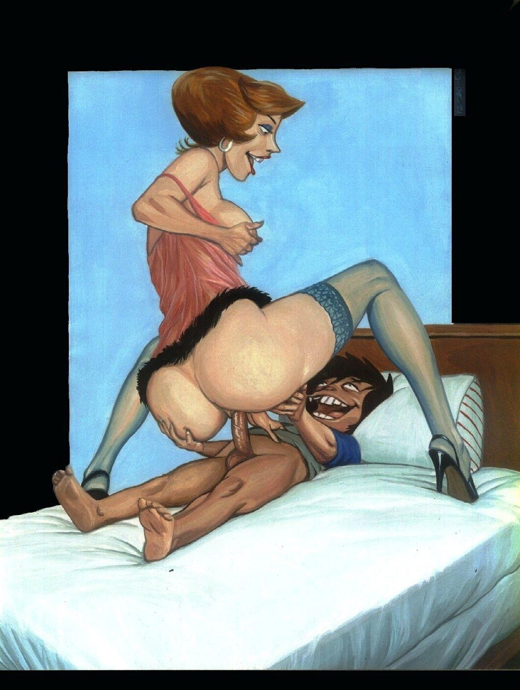 Силует порно на сын маму