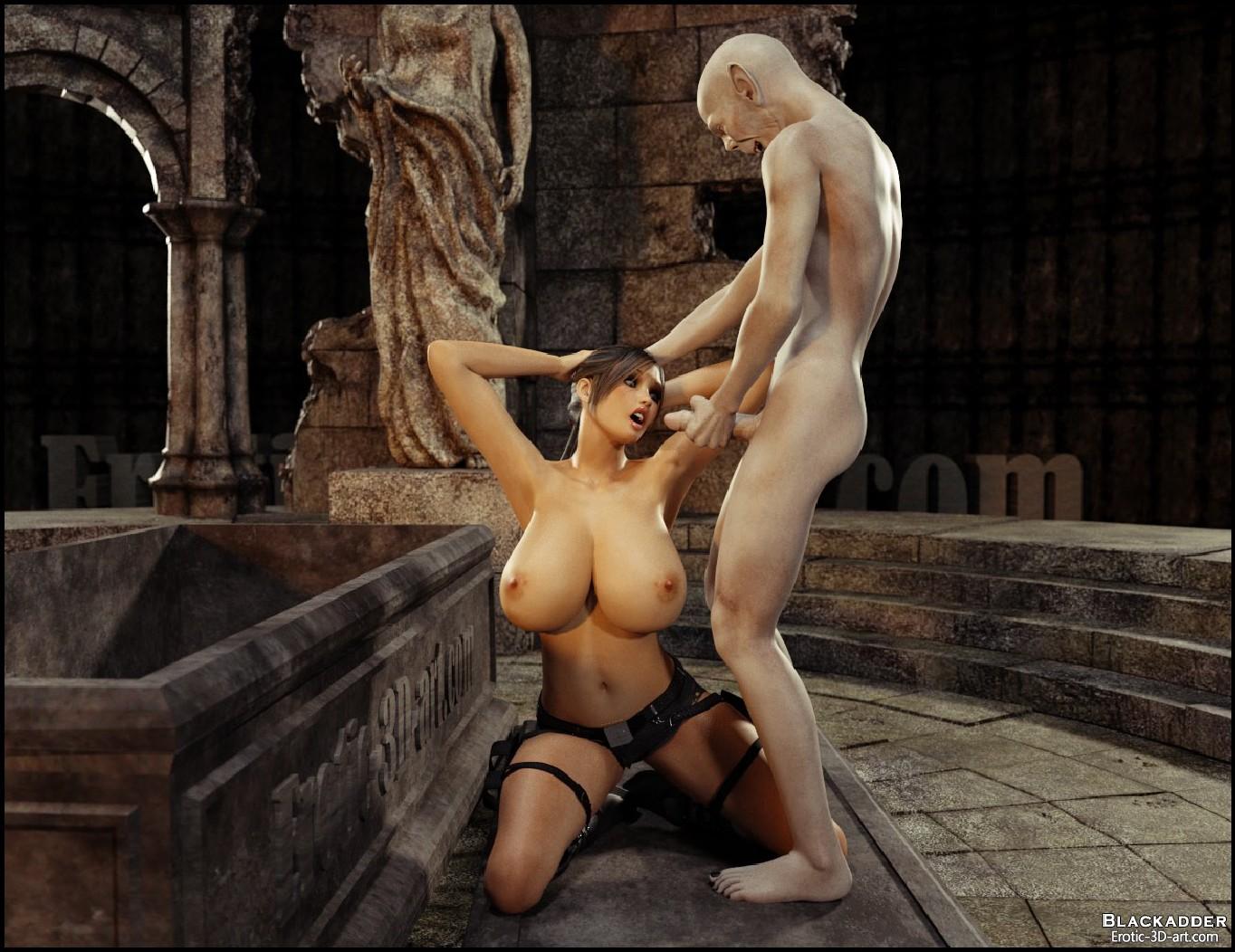 3dsexsins monsters fuck busty girl sexy photos