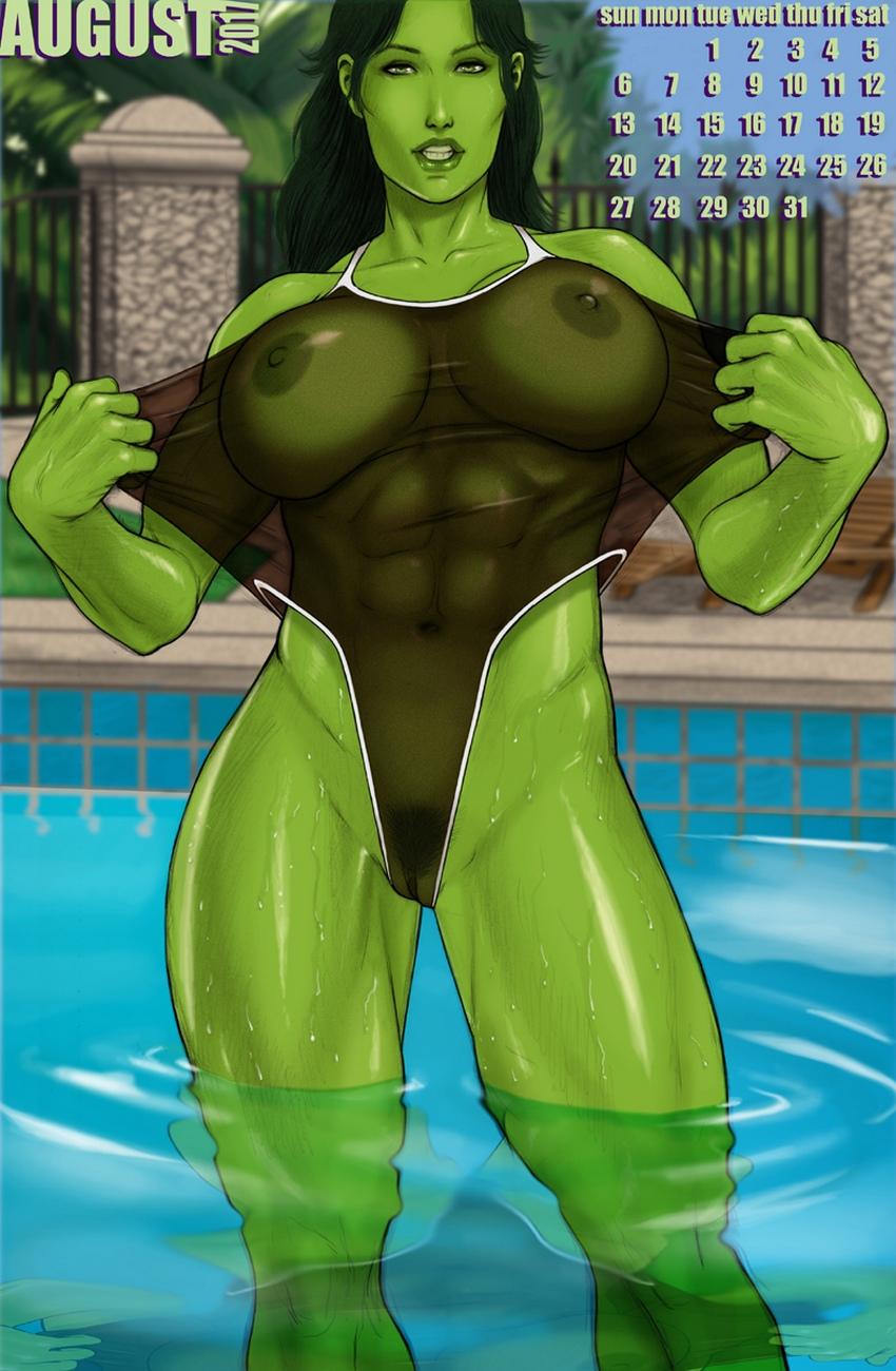 She-Hulk 2017 Calendar at X Sex Comics