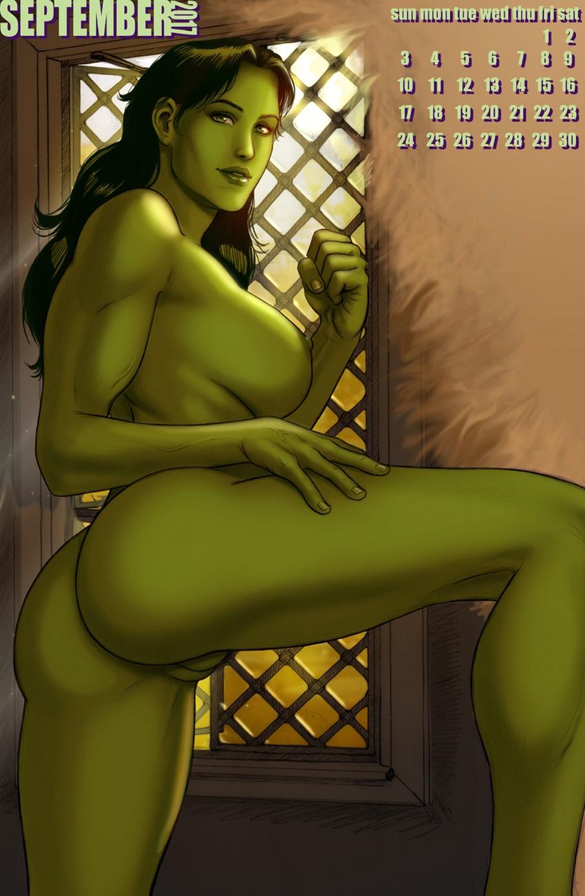 she hulk 2017 calendar at x sex comics