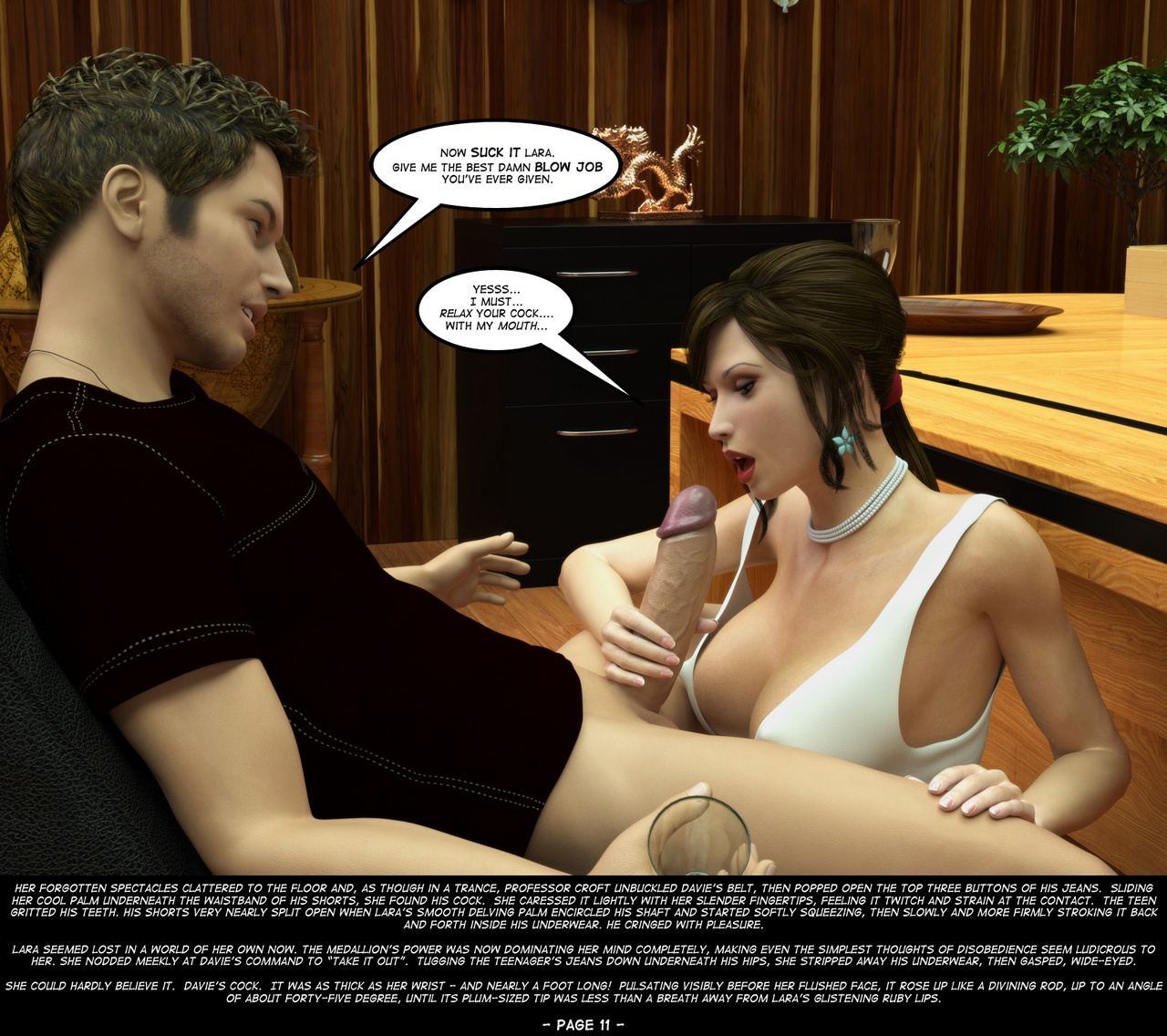 A horny guy seduced iva at the vacant lot 8