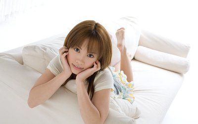 Rika Yuuki Chinese case enjoys showing her underclothes  body and smile