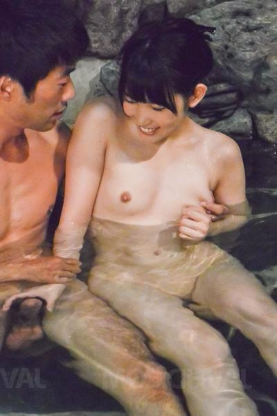 Yui Kasugano Asian is fucked with two fingers and doggy in pipeline