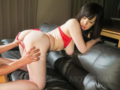 Koyomi Yukihira Asian shaked fat tits dimension riding dicks in orgy