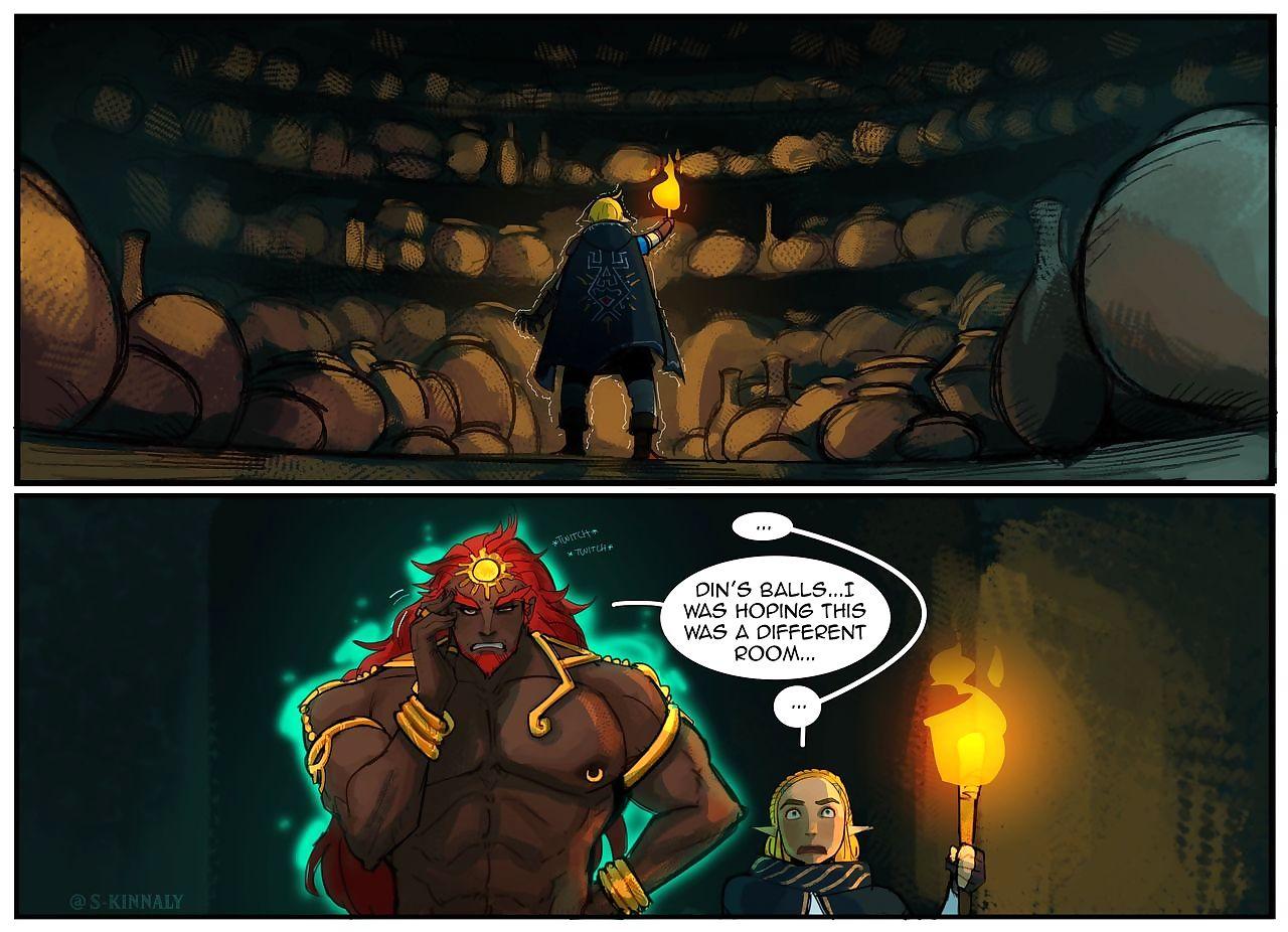 Zelda BOTW2 comics - faithfulness 2