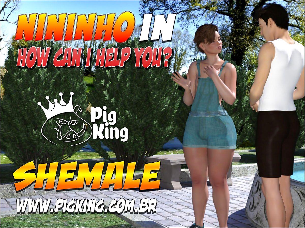 PigKing- Nininho with Putting Buttocks I Tabled You?