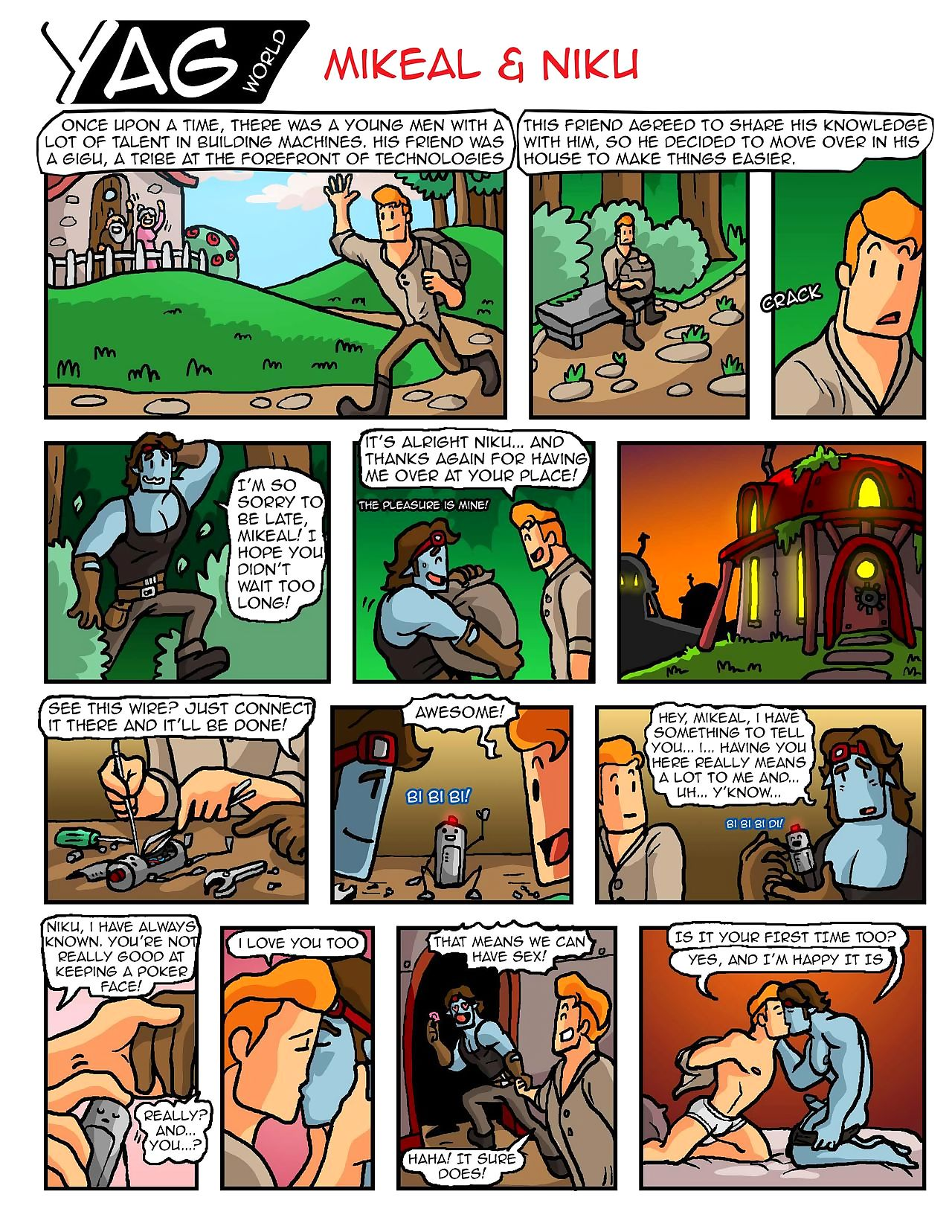 On all sides Comics - fastening 5
