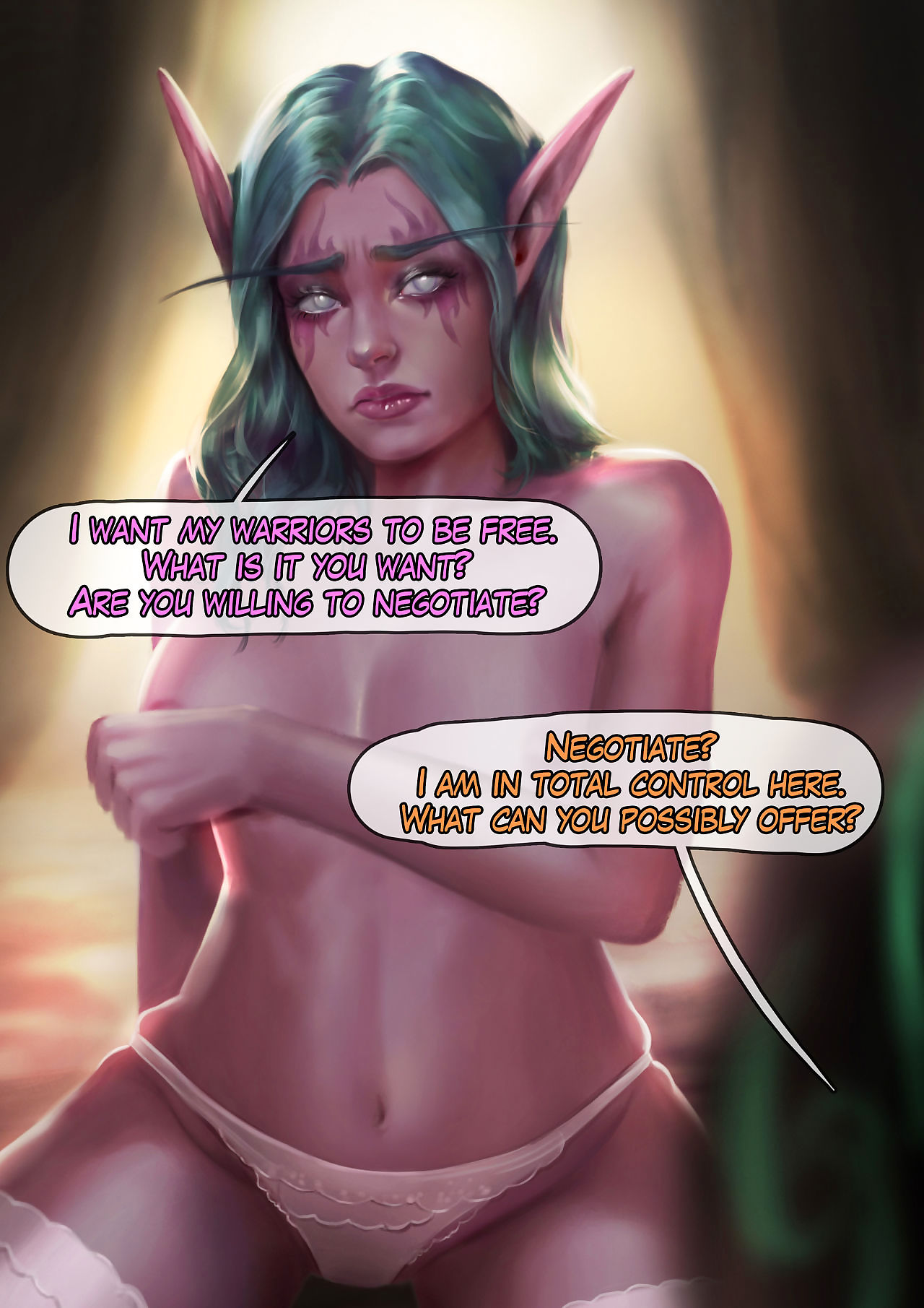 Tyrande Conduct oneself treat - accoutrement 3