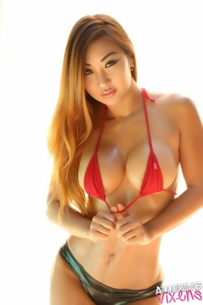 Curvy fit pervy pretty in a bikini