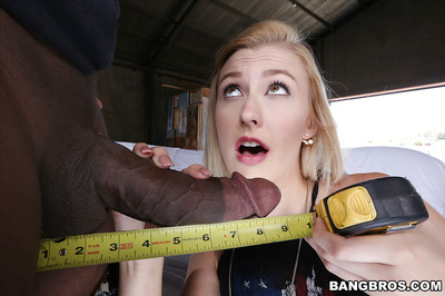 Just legal fairy beauty Alexa Grace killing painful anal from BBC