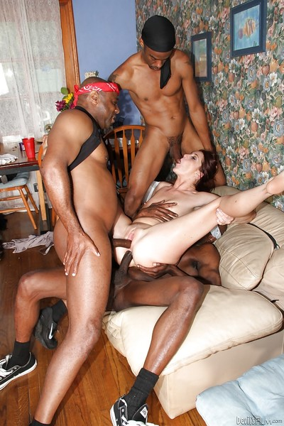 Interracial orgy scene with Cici Rhodes, who into groupsex
