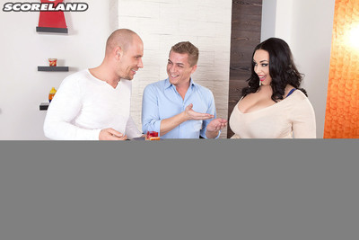 Titsy anastasia lux attracted to birthday with dualistic rods