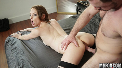 Kassondra raine takes the voyeurs vast cock eggs bottomless