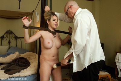 Wild darling purchases fixed up, dominated and raw drilled in obedience