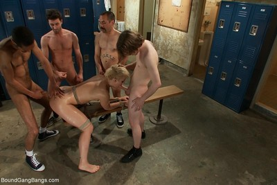 Dylan ryan lives out her imagining of being group-bonked in the locker room by 5 dud